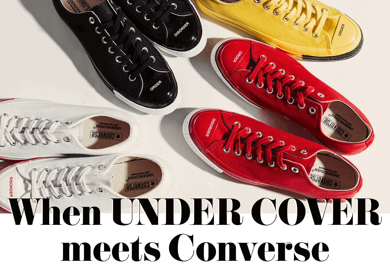 When UNDER COVER meets Converse