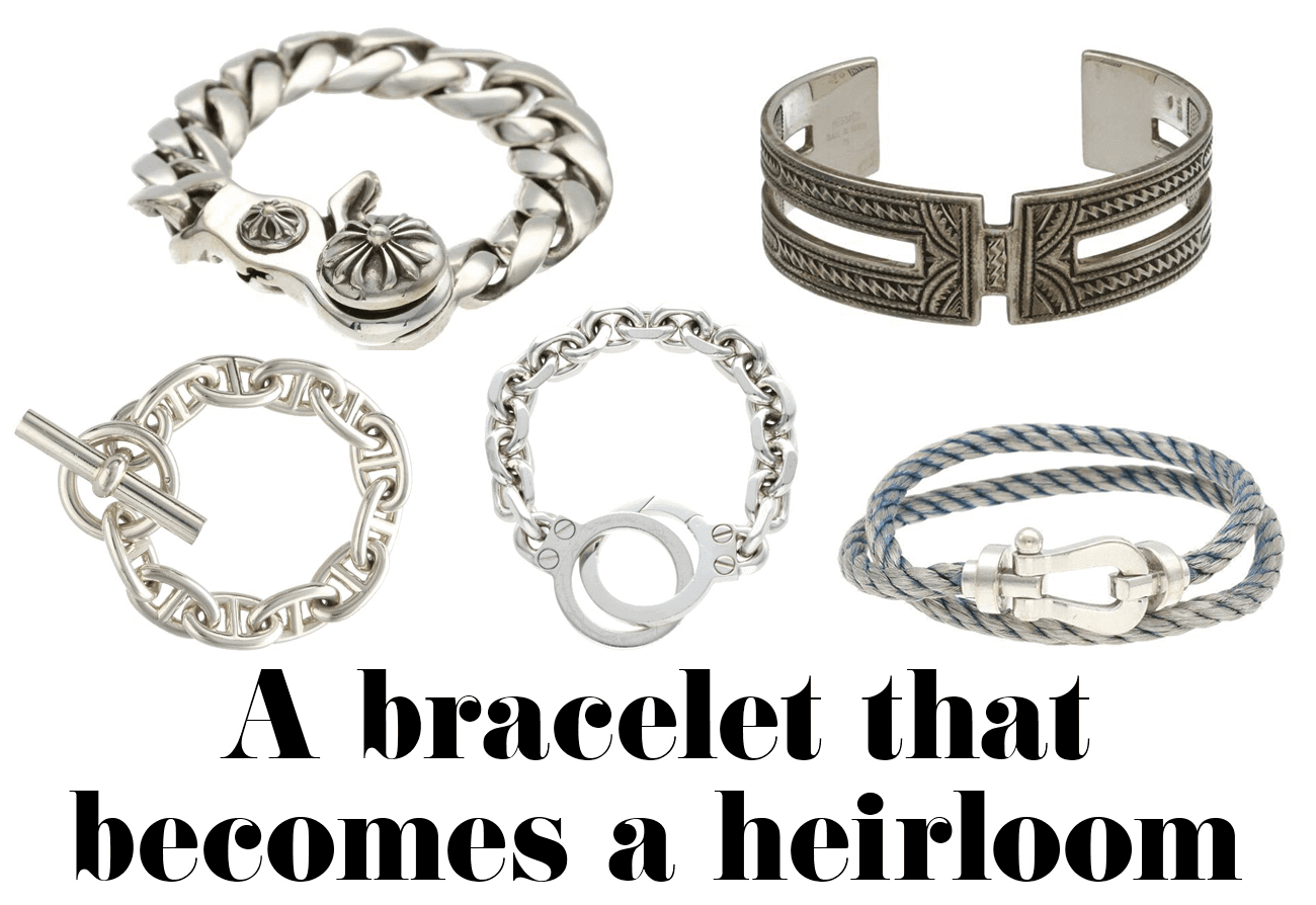 A bracelet that becomes a heirloom