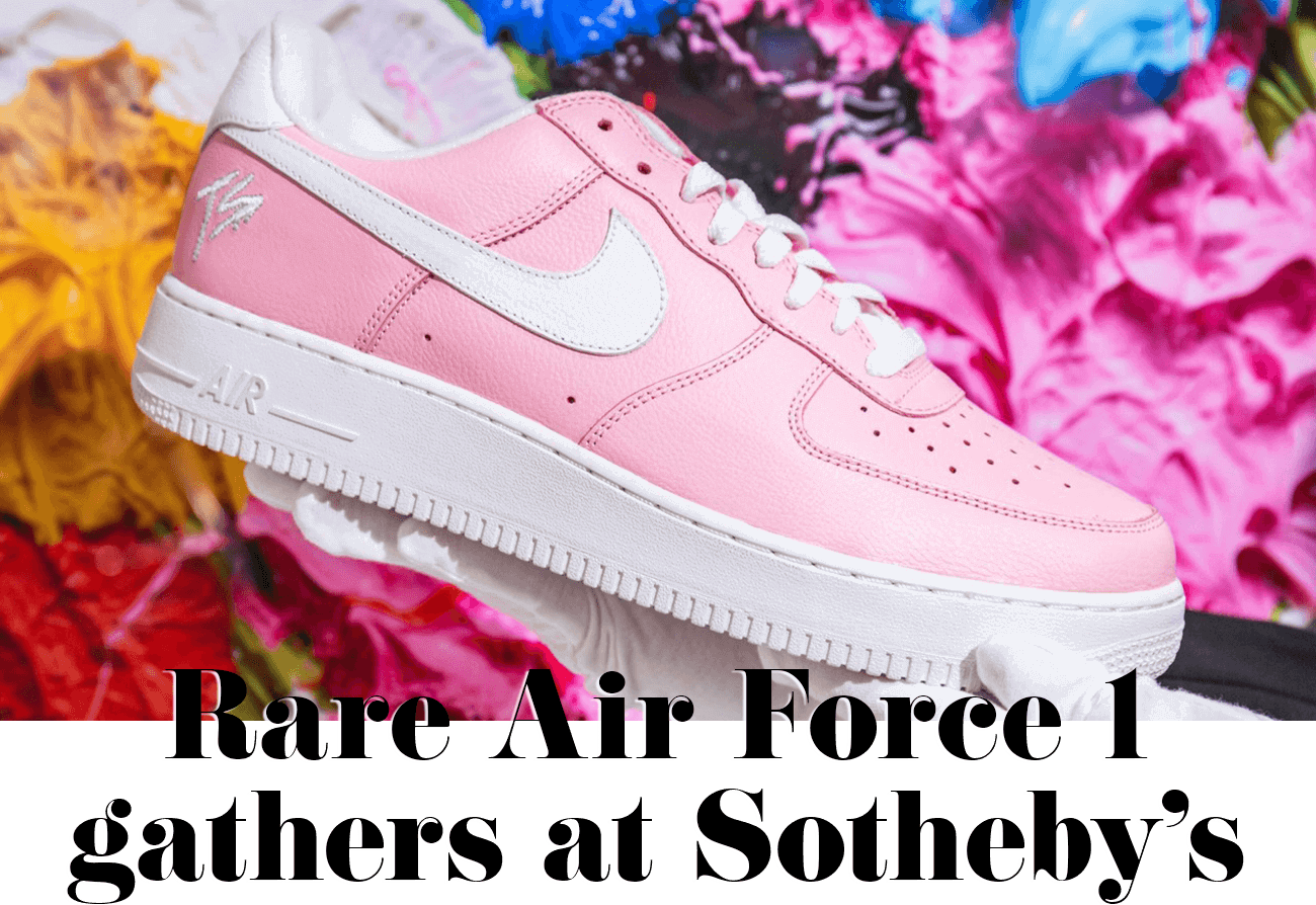 Rare Air Force 1 gathers at Sotheby's